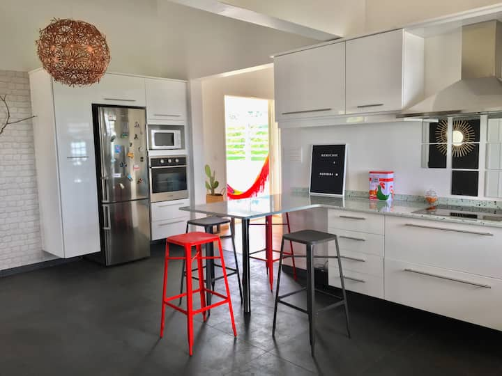 Charming apartment, sea view and Pitons du Carbet