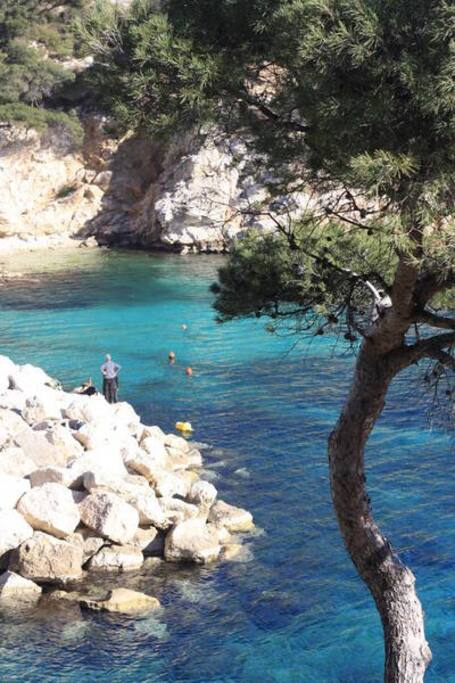 near from Sormiou's Calanque