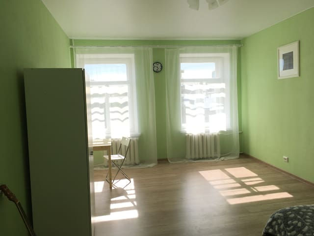 Spacious cosy room near to the Peter&Paul Fortress