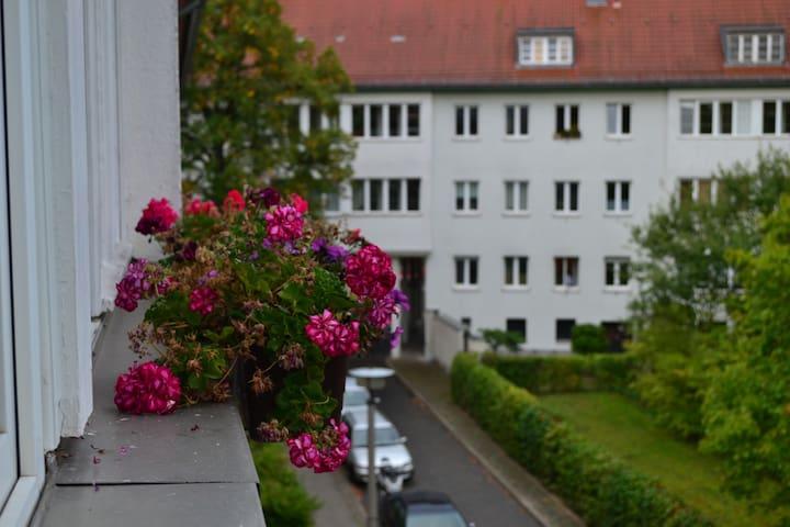 Sunny&Cozy - Quiet but central! - Berlim - Apartamento