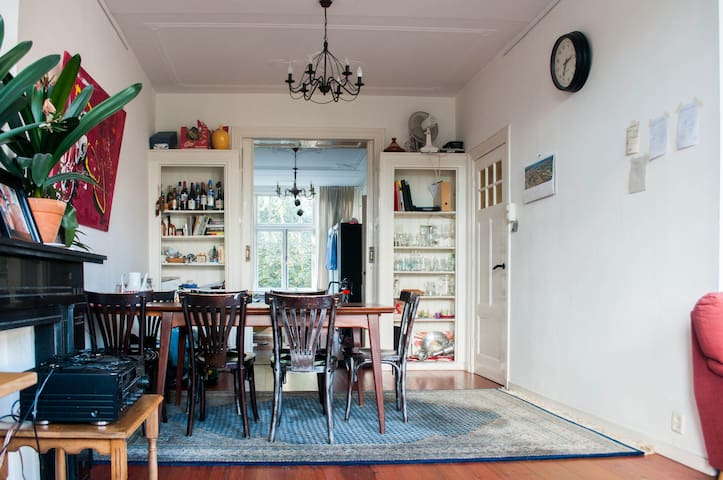 Charming 1920s house with 360° roof terrace - Rotterdam - Apartment