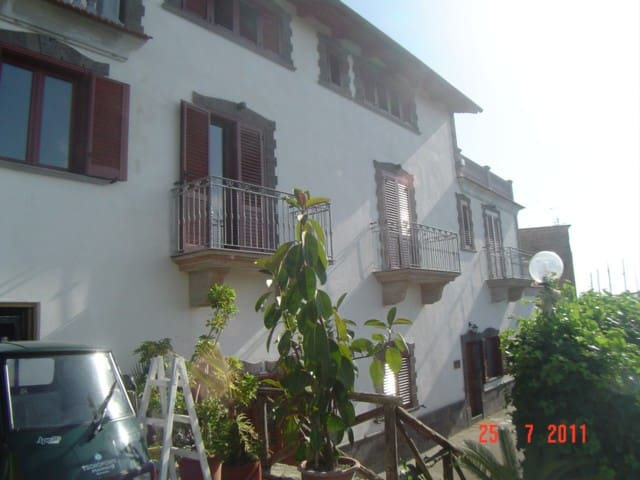 amable new flat view sea side in sorrento coast - Schiazzano - Apartamento