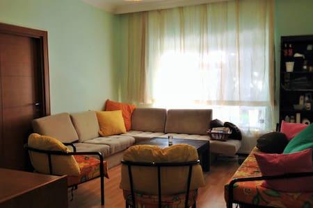 Spacious and sunny room! - Çankaya