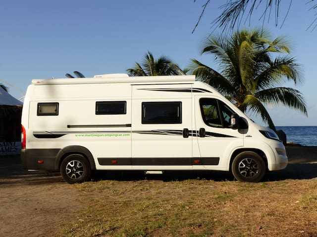 Explorez la Martinique en camping-car!