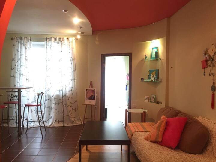 Cosy Studio apartment with big bedroom