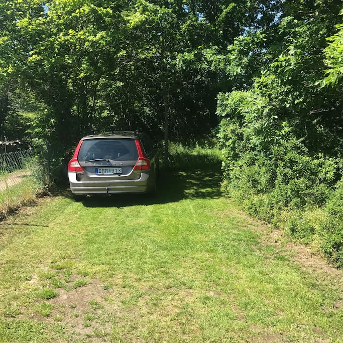 Free parking outside the cottage