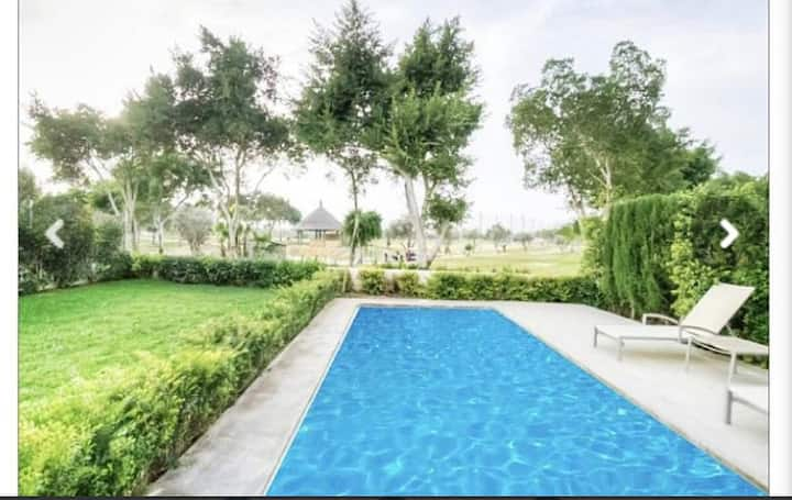 Villa independiente con piscina privada Golf/Playa