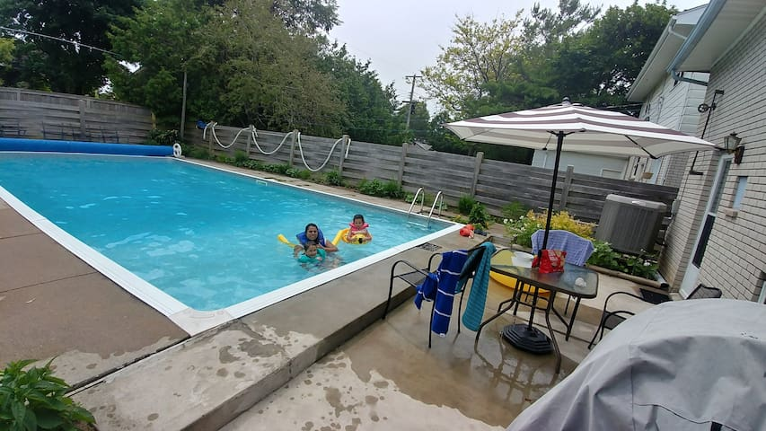 In ground swimming pool 18×36