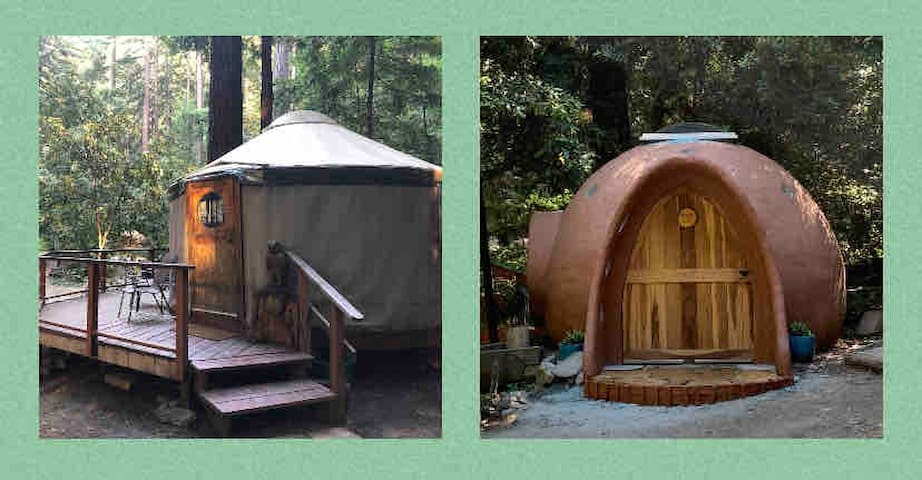 The Nests at Camp Cruz, A Couple's Redwood Retreat