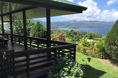 HIVA OA TAAOA Superb ocean view in Marquesas