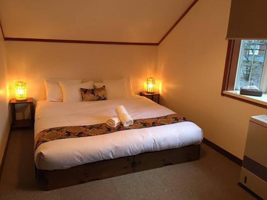 King Bed in two bedroom family suite