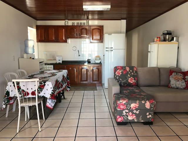 Apartamento amplo em Arroio do Silva - 7 hóspedes