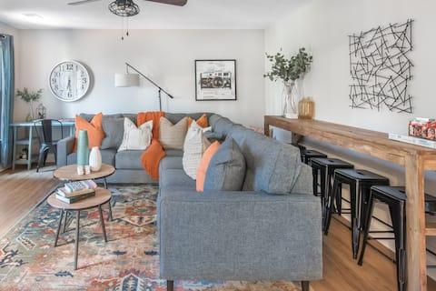 Eight 11 Homes • Cozy & Stylish Farmhouse near ATL