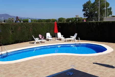 Sun and beach only 2 min from the apartment-PUZOL-