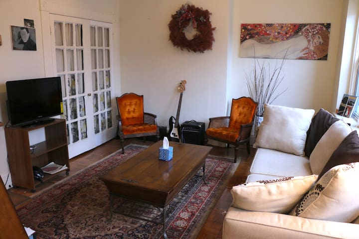 Spacious apartment in heart of Mt. Vernon - Baltimore - Lejlighed