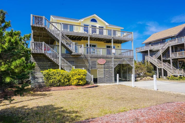 JULY 10 WEEK OPEN! Semi Oceanfront w/ private pool, game rm, & hot tub