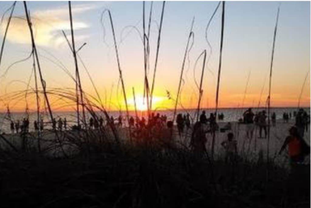 Ft Myers Beach Sunset.