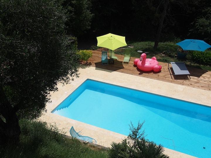 Chambre Vue - accès piscine autorisé