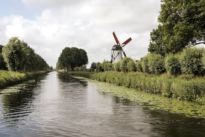 The windmill of Damme