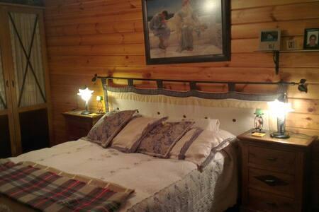 Acogedora Casita de madera - Rumah