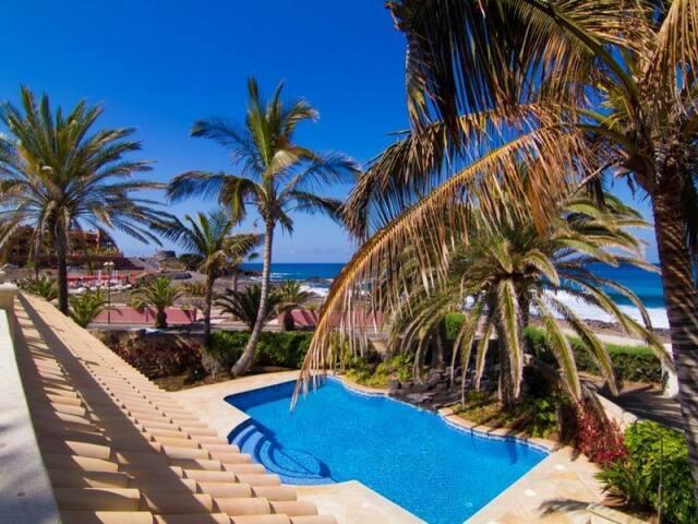 Gaviota Villa, Palm-Mar, Piscina / Vista - Palm-Mar - Villa
