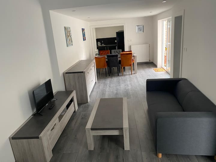 Recently renewed house in the center of Ronse