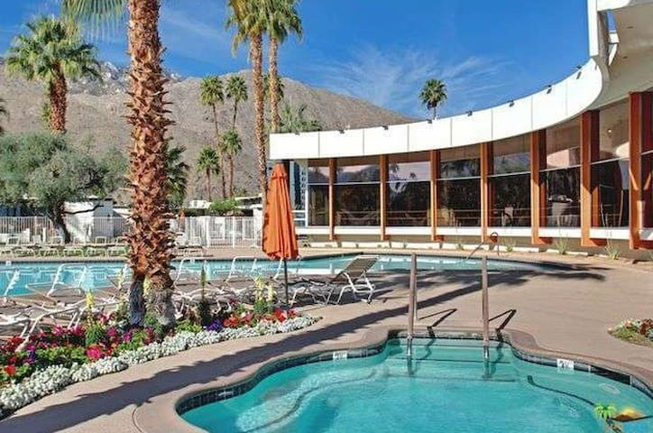 Make yourself at home at the famed Ocotillo Lodge