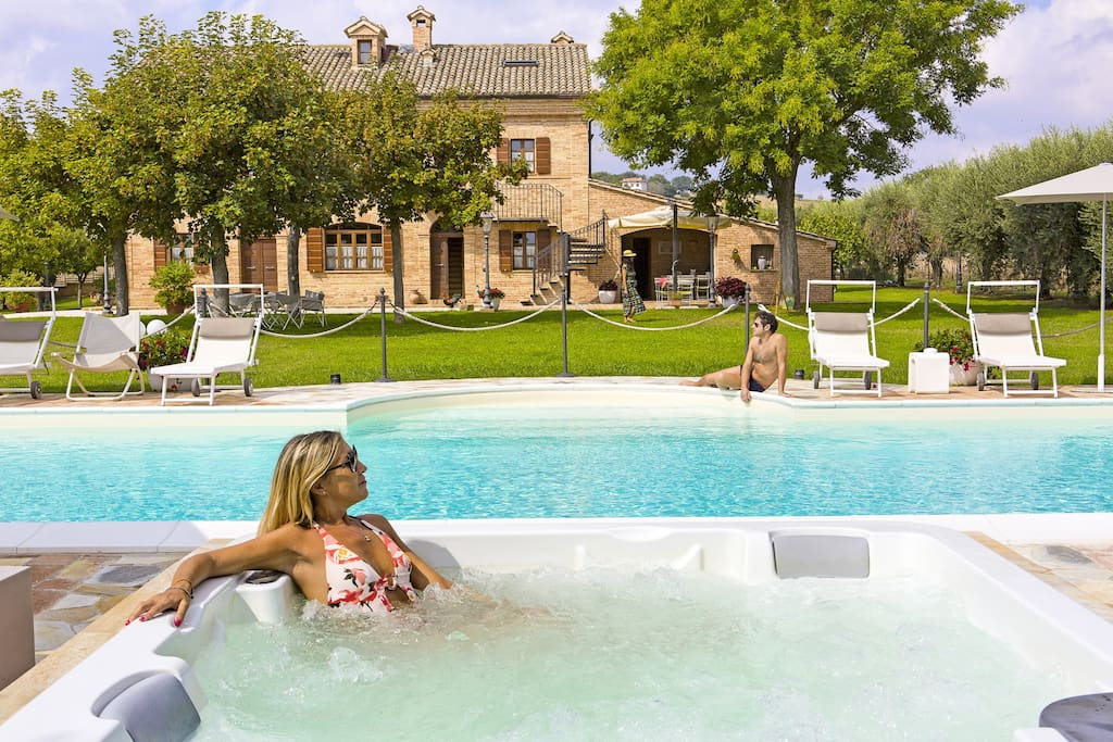 Wellness & Relax at Villa Pedossa