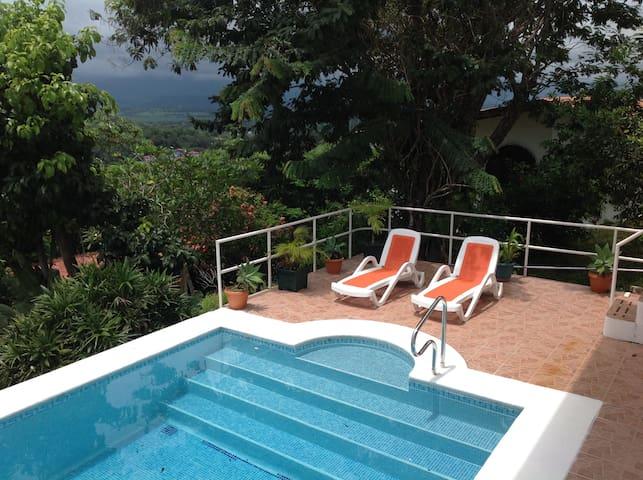 Casa de Colores, Lap Pool w/ Pacific view, 2 bdrms