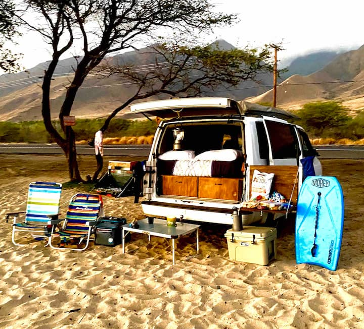 Maui Beach Adventure  Camper
