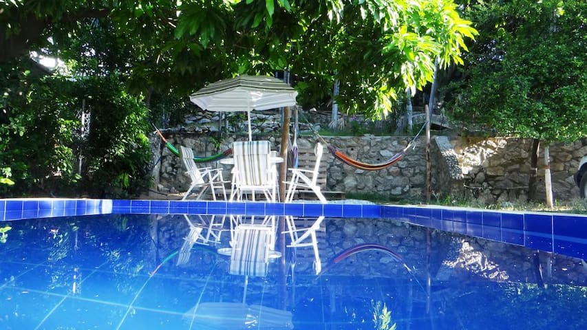 The place to be: hostel, pool, bar and nature - Bonda - Albergue