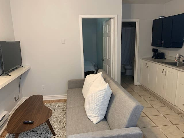 Cozy 1 Bedroom few minutes from downtown