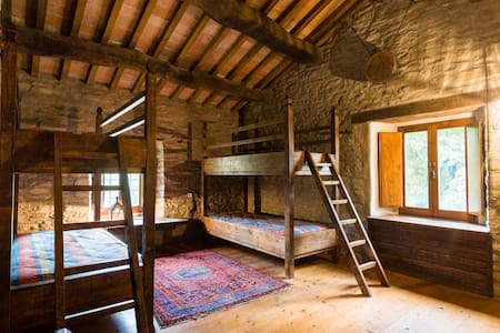 Medieval experience the Wayfarer's Quadruple Room - Marradi - 住宿加早餐