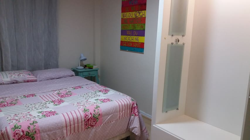 Double room 10min from the center of town. - Florianópolis - Apartment