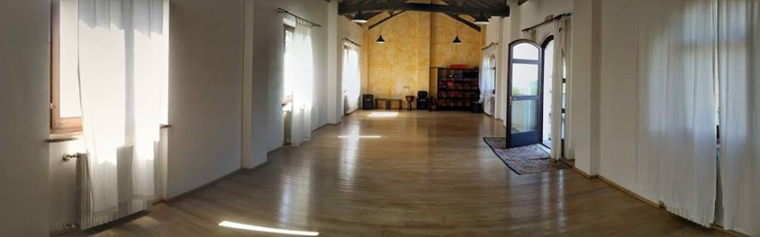 Sala Yoga & Centro Meditazione - Cecima - Nature lodge