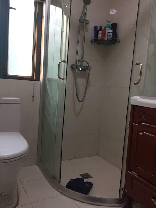 单独使用的洗手间