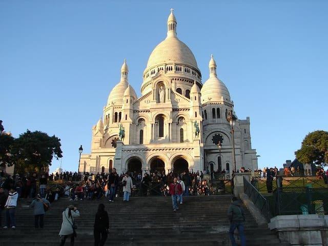 10Min à pieds de Montmartre/ Sacré Coeur