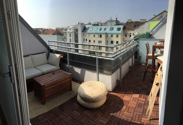 Nice and centrally located apartment with terace - Vienna - Pis