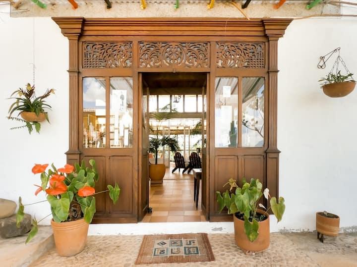 Habitación Standar en hermosa casa finca