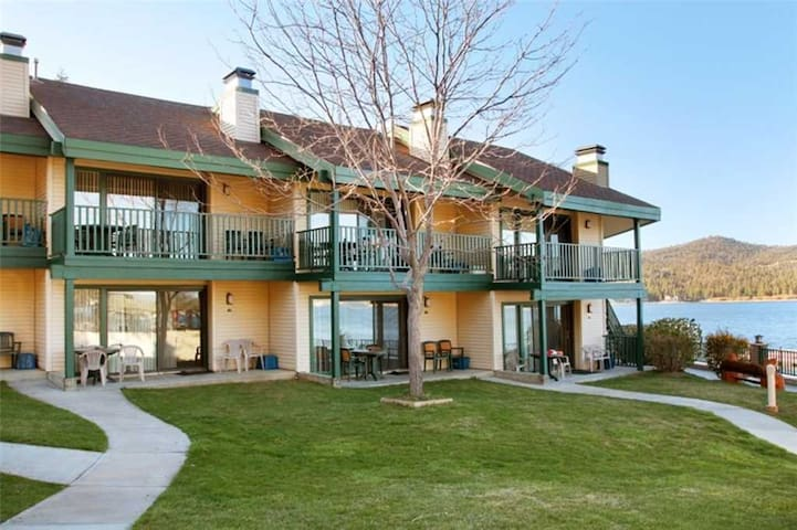 Lake Front Condo at Lagonita Lodge - Big Bear Lake