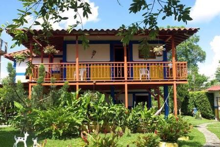 Casa de Campo Luna Verde hospedaje 16 personas - Ház