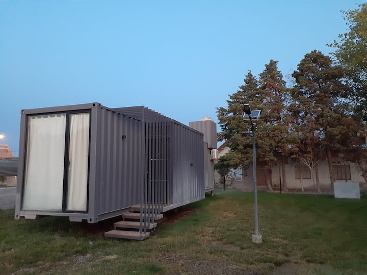 DEPARTAMENTO CUBIL 2. casa conteiner 1 dormitorio.