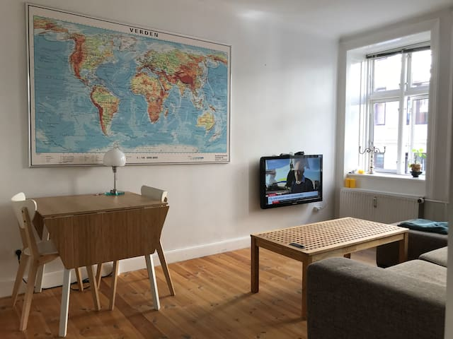 Apartment by the lakes and 10 min city center