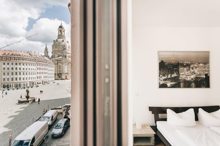 Neu! Helles Apartment an Neumarkt und Frauenkirche