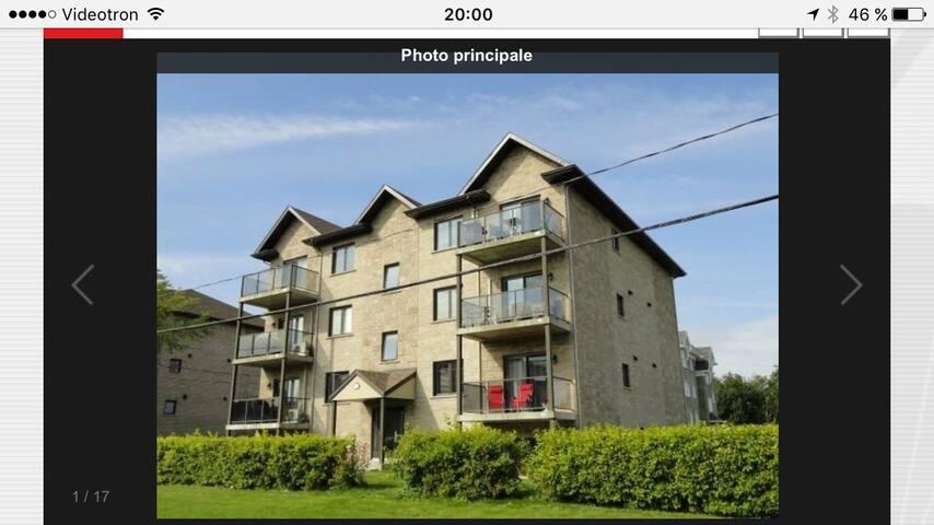 Condo 2 chambres aire ouverte - Saint-Nicolas - Lägenhet