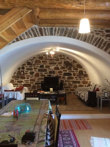 Tranquility and hospitality - Agios Petros - House