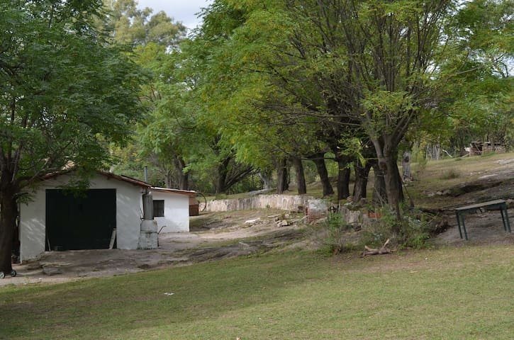 La casa de los caseros, vista desde la galería