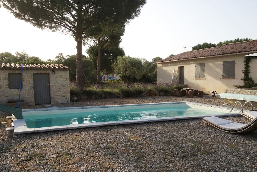 Belle maison au calme avec piscine houses for rent in - Cash piscine saint maximin ...