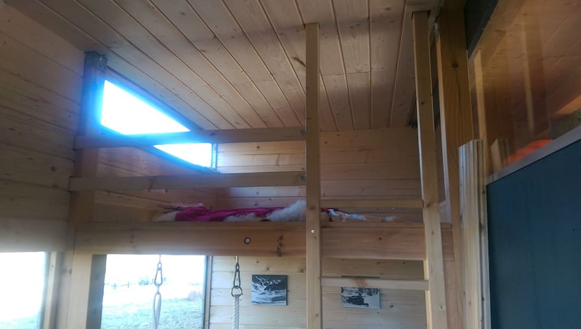 Biwak - Hütte 6qm - Radolfzell am Bodensee - Maja