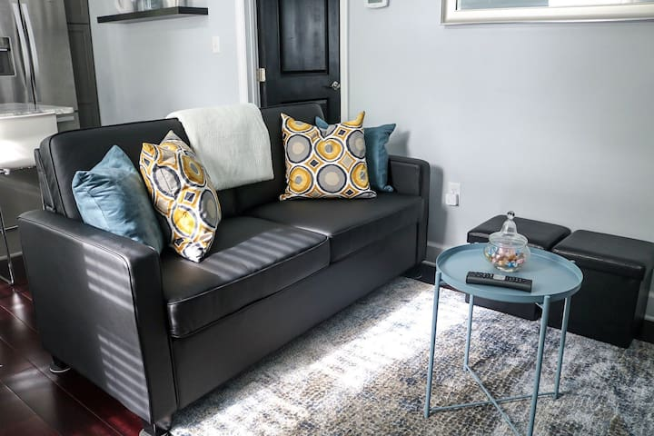 Cozy and modern apartment close to campus!